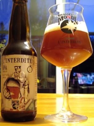 L' Interdite 90 Mins IPA - Brasseurs Du Monde