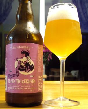 Tante Tricotante Chardonnay - Microbrasserie Du Lac St-Jean