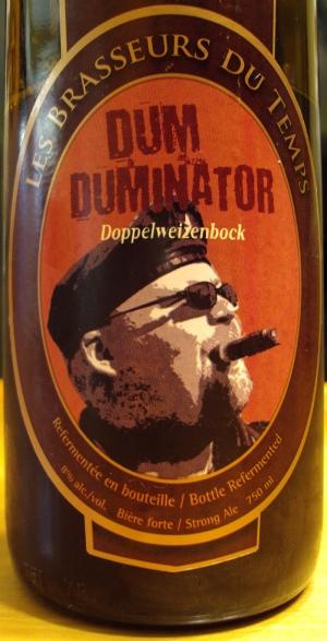 DumDuminator (Fût De Cognac) Les Brasseurs Du Temps img3 - craftbeerquebec.ca