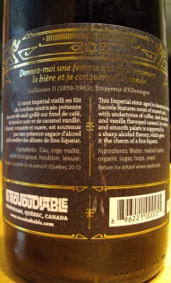L'Impératrice Brassin Spécial - Trou Du Diable img6 craftbeerquebec.ca
