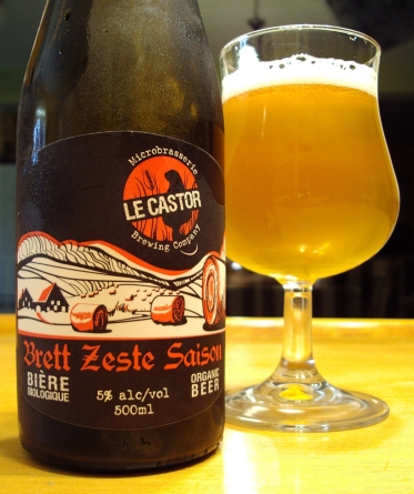 Brett Zeste Saison - Microbrasserie Le Castor craftbeerquebec.ca