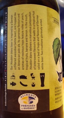 Houblon Blanc - Brasseurs Du Monde img 4 craftbeerquebec.ca