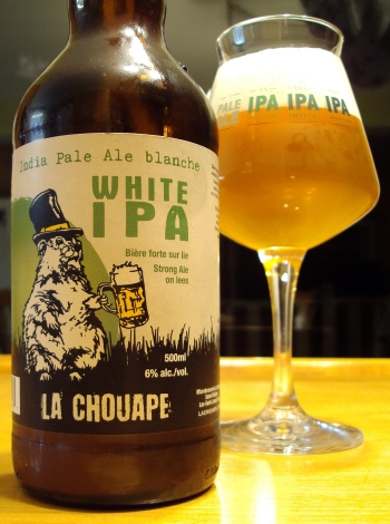 White IPA - Microbrasserie La Chouape craftbeerquebec.ca