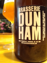 ressurection de broderus saison de noel brasserie dunham side craftbeerquebec.ca