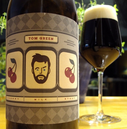 tom green cherry milk stout - beau's - front - craftbeerquebec.ca