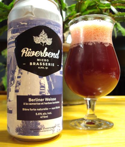 berliner weisse camerises herbes boreale microbrasserie riverbend craftbeerquebec.ca biere artisanale quebec