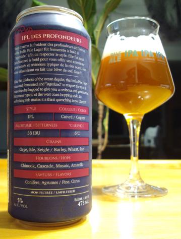 ipl des profondeurs back can microbrasserie nouvelle france biere artisanale quebec craftbeerquebec.ca